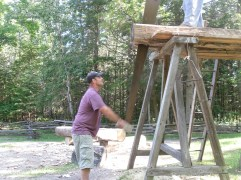 Tom sawing2