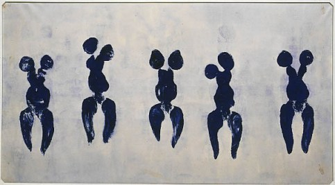 Anthropométrie de Yves Klein