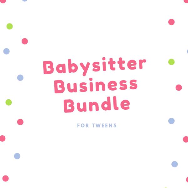 babysitter business bundle