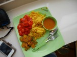 Day 4 - Yummy Indian food at the UTown canteen place.