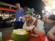 """Day 139 - """"ARE THOSE WHITE PEOPLE EATING DURIANS?!?!"""""""