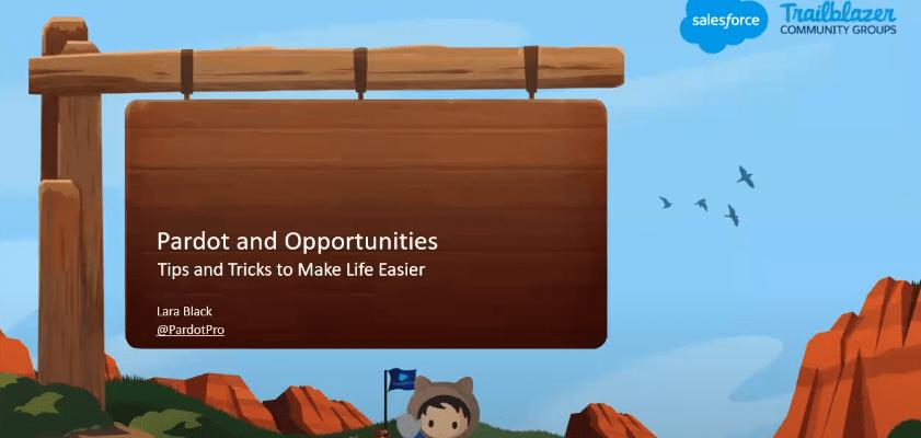 Salesforce Opportunities in Pardot