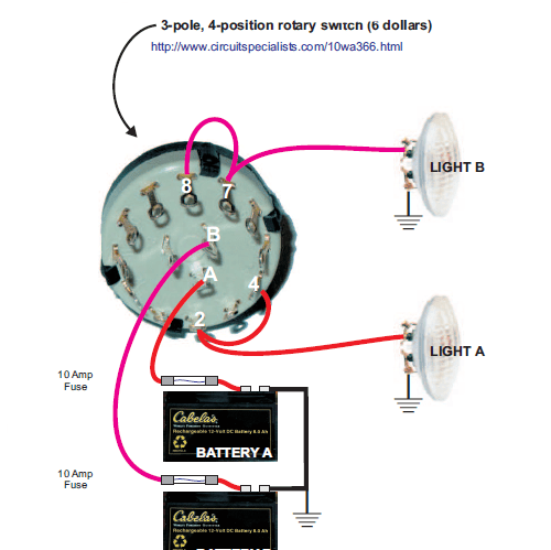 simple headlight wiring diagram rs485 to rs232 converter circuit minibike 2 lights batteries - home of the pardue brothers