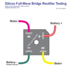Ct90 Wiring Diagram 3 Wire Silicon Bridge Full Wave Rectifier Testing - Home Of The Pardue Brothers