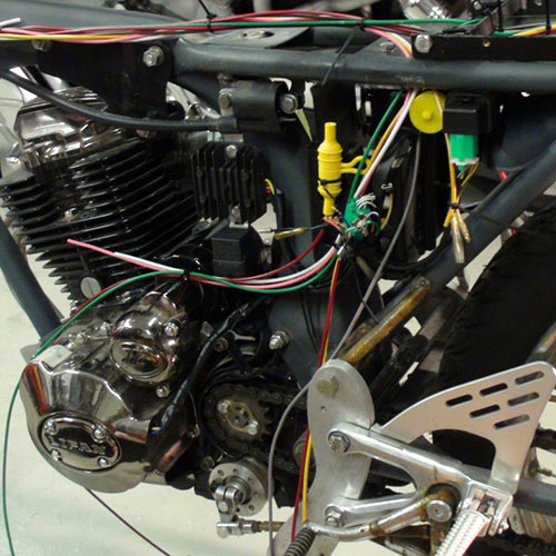 Honda Cb125s 1976 Electrical Wiring Diagram All About Wiring