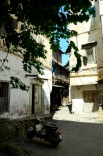 Entrance to Accommodation Zanzibar