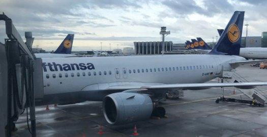 luchthaven Frankfurt - Lufthansa