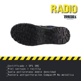 Calzado seguridad transpirable Paredes Seguridad