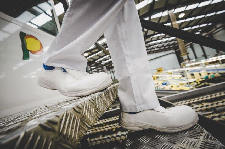 Calzado de Seguridad Paredes. Línea Blanca Uniformidad