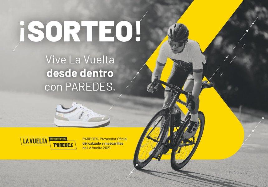 PAREDES SEGURIDAD PROVEEDORES OFICIALES DE LA VUELTA CICLISTA 2021