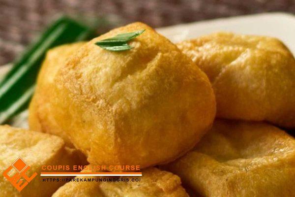 Tahu pong makanan khas Kota Kediri