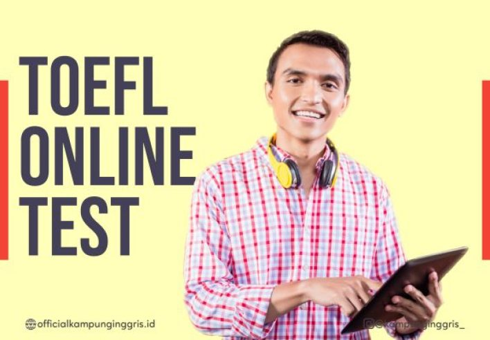 Program TOEFL Online Prediction Test (only Rp200K) Photo by Officialkampunginggris.id