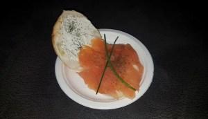 Broodje Zalm met kruidenkaas