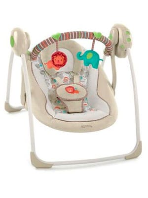 swing chair baby best gray accent chairs infant expert buyers guide parent portable comfort and harmony cozy
