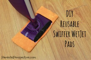 Tutorial: Reusable Swiffer WetJet Pads