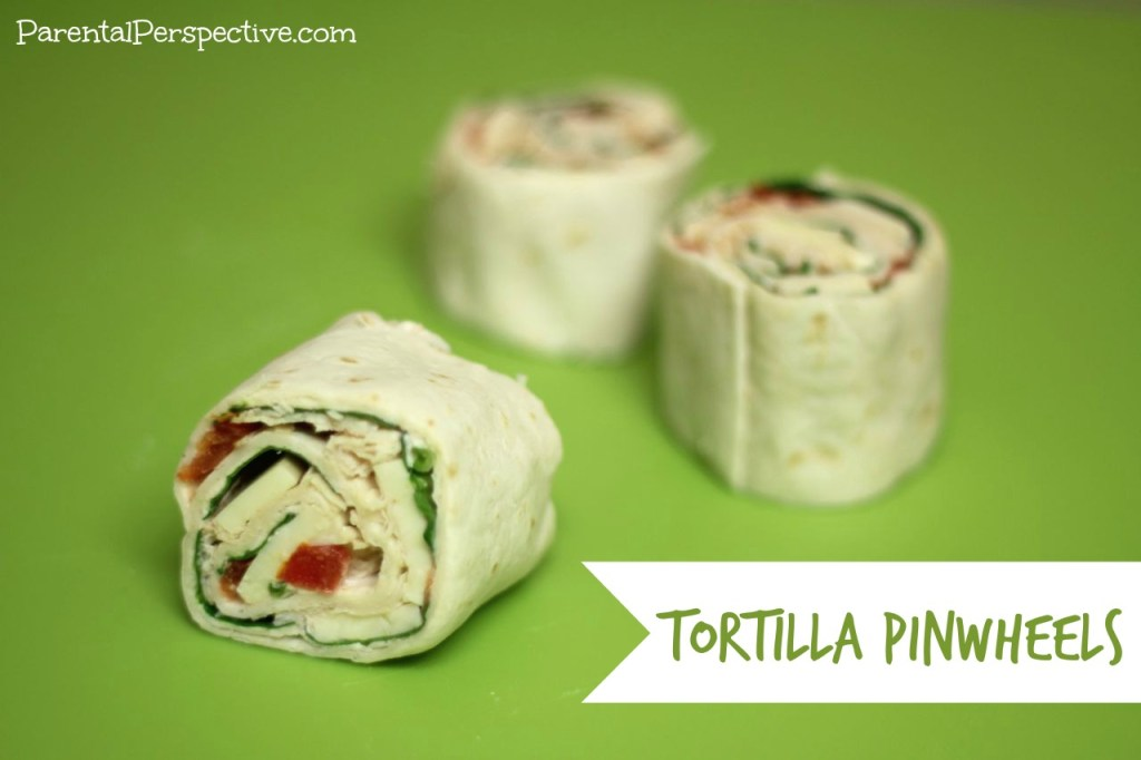 Tortilla Pinwheels Step By Step Recipe | Parental Perspective
