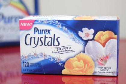 PurexCrystalsDryerSheetsReviewGiveawayCoupon - 1