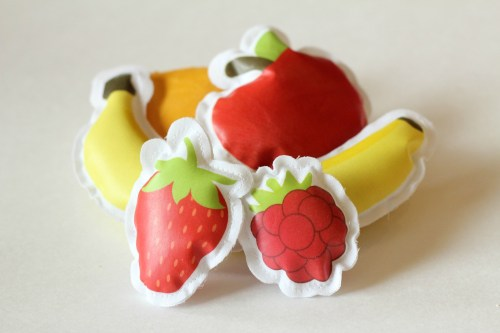 Fabric Play Food