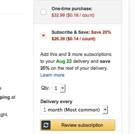 A step by step guide for getting the best price on diapers and wipes using Amazon Mom   Parental Perspective