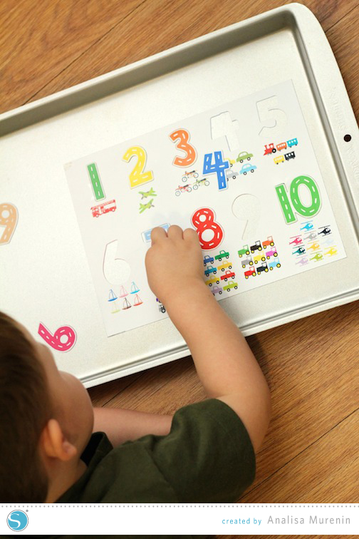 Magnetic Counting Puzzle