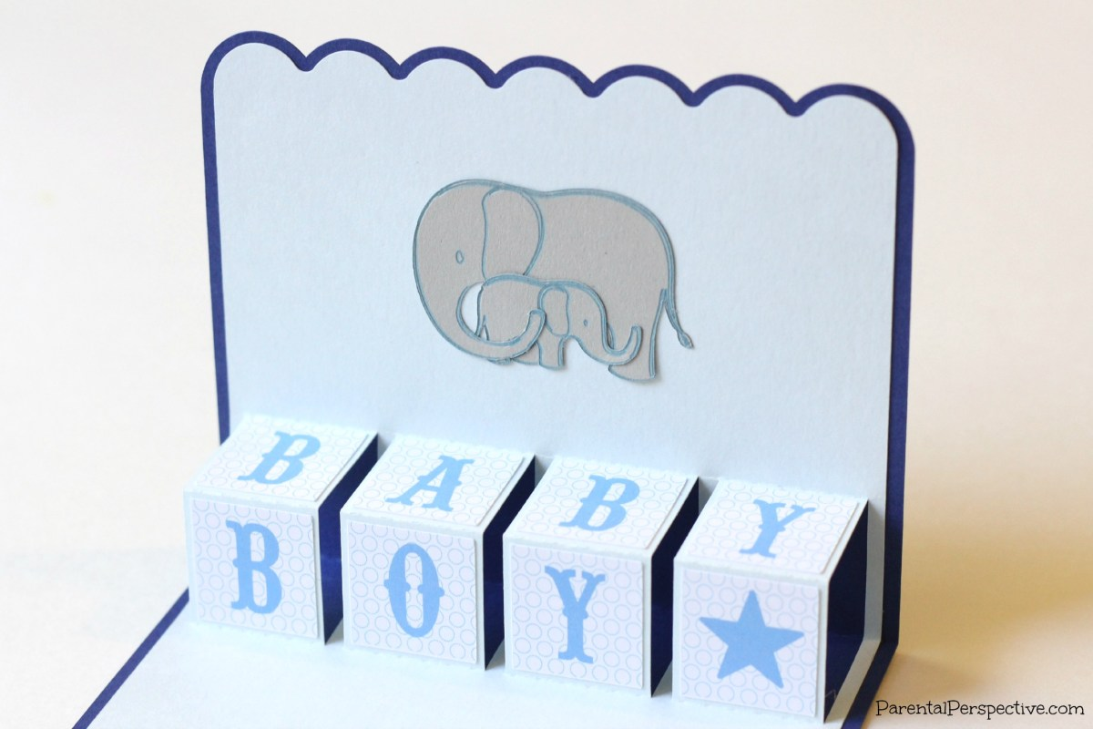 New Baby Pop Up Card
