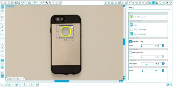 How to get perfectly sized custom phone decals using the Silhouette PixScan™ cutting mat