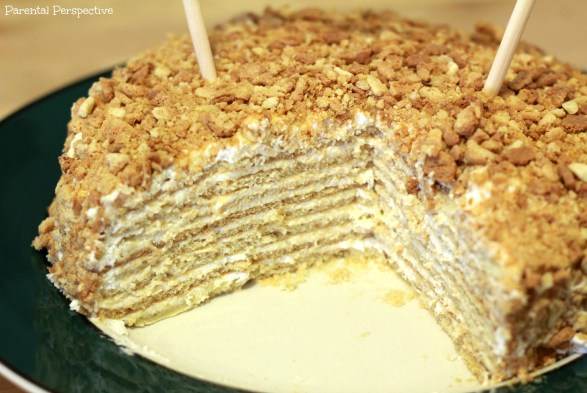 Medovik: An 8 Layer Russian Honey Cake