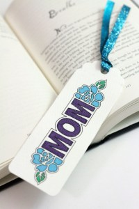 Canvas Bookmark For Mom