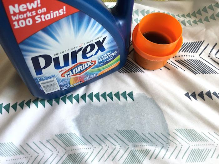 Enter to win a free bottle of Purex® plus Clorox 2® detergent