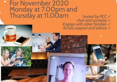 Virtual Coffee and Chat Sessions with the PCC – updated times and days