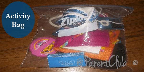 Kids Activity Bags