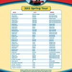 Thomas Live Tour Dates 2013