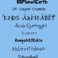 Free Fonts Children's Hand