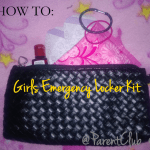 How To: Girls Emergency Locker Kit