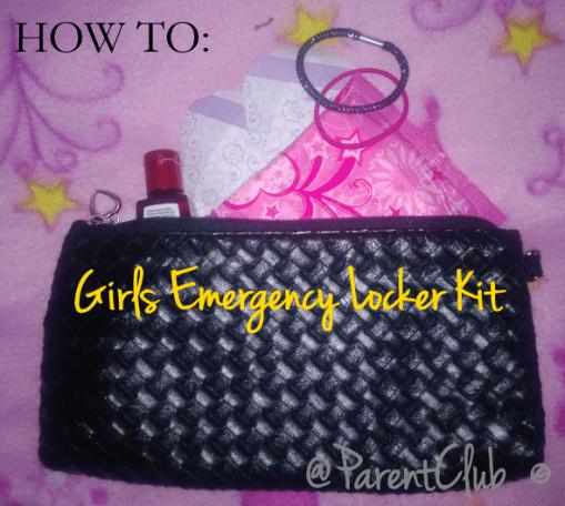 Girls Emergency Locker Kit