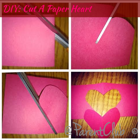 DIY Cut A Paper Heart
