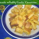 Homemade Garlic Croutons