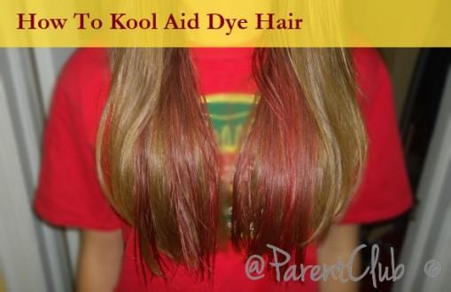 How to kool aid dye hair