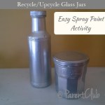 Recycle Upcycle Glass Jar Idea