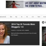 Parent Club Listed Top 30 Toronto Mom Bloggers