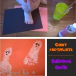 Ghost Footprints – Halloween Crafts