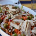Hearty Chicken & Veggie Salad