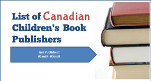 List of Canadian Children's Book Publishers