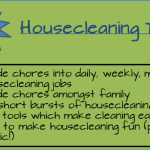 Tips To Make Housecleaning Easier