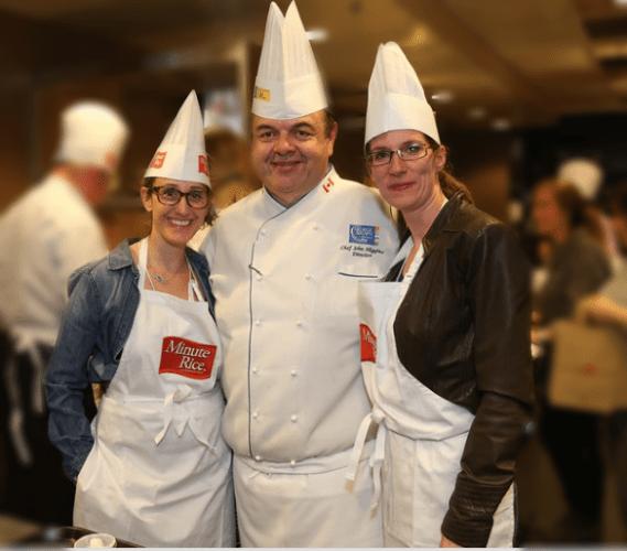 Caroline Fernandez Chef John Higgins