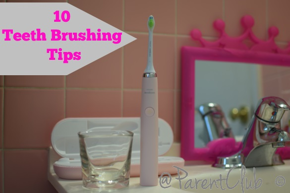 10 Teeth Brushing Tips
