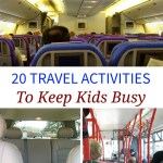 20 Travel Activities To Keep Kids Busy