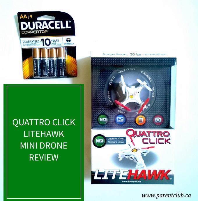 Quattro Click Litehawk Mini Drone Review