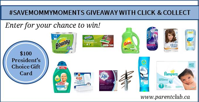 #SaveMommyMinutes Giveaway with Click & Collect