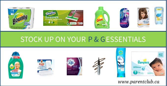 Stock Up on Your P & G Essentials